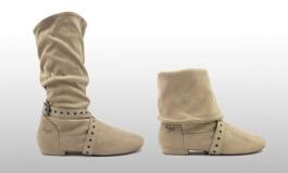 beige step